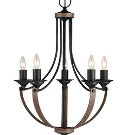 Seagull Lighting Sea Gull Corbeille 5-Light Chandelier