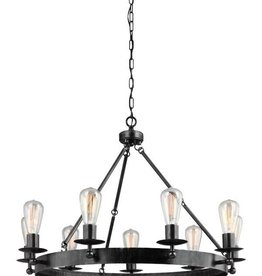 Seagull Lighting Sea Gull Nine Light Chandelier