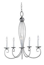 Seagull Lighting Sea Gull Pemberton 5-Light Chandelier