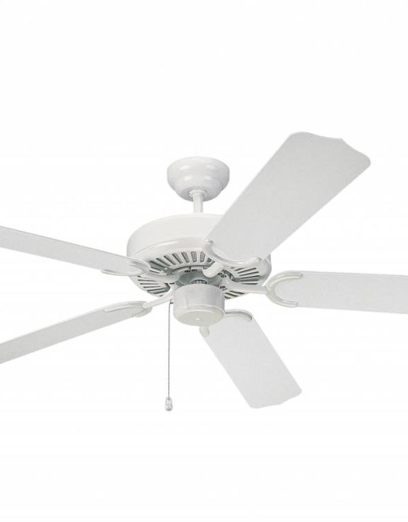 "Monte Carlo Monte Carlo 52"" Weatherford - White Ceiling Fan"