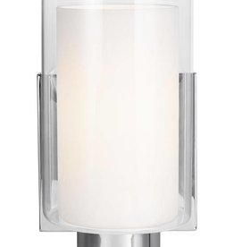 Feiss Feiss Bergin 1 Light Wall Sconce - Chrome