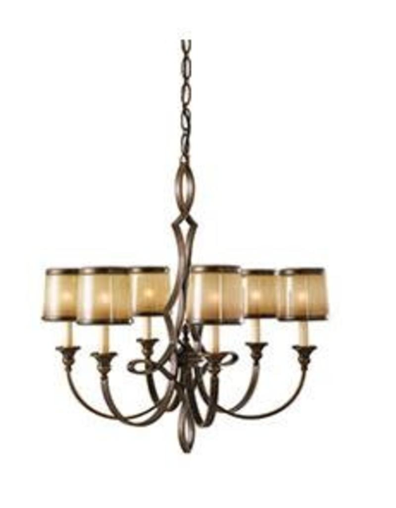 Feiss Feiss Justine 6-Light Chandelier