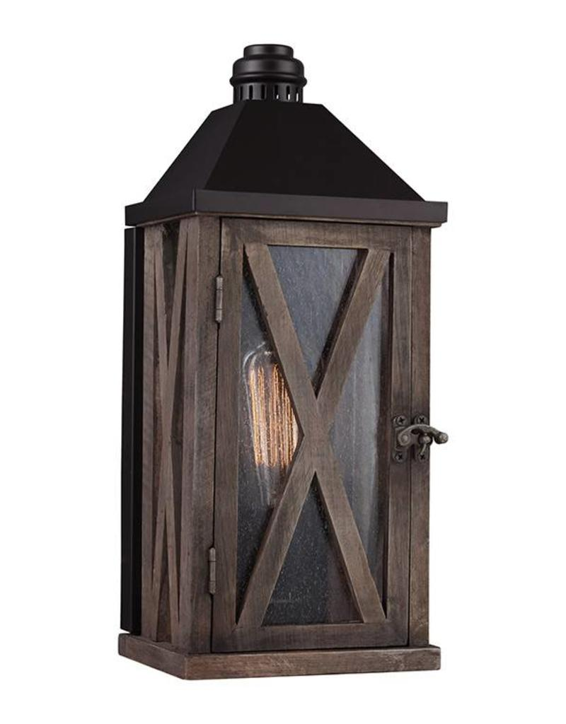 Feiss Feiss Lumiere 1 Light Exterior Sconce - DWO ORB