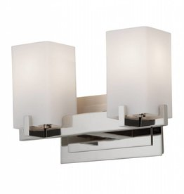 Feiss Feiss 2 Light Vanity Fixture - Polished Nickel