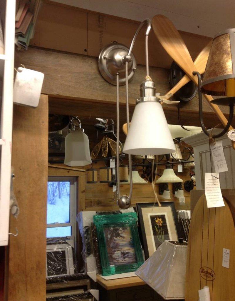 Hudson Valley Hudson Valley Light Satin Nickel Sconce
