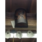 Shadow Mountain Meadow Valley Wall Sconce