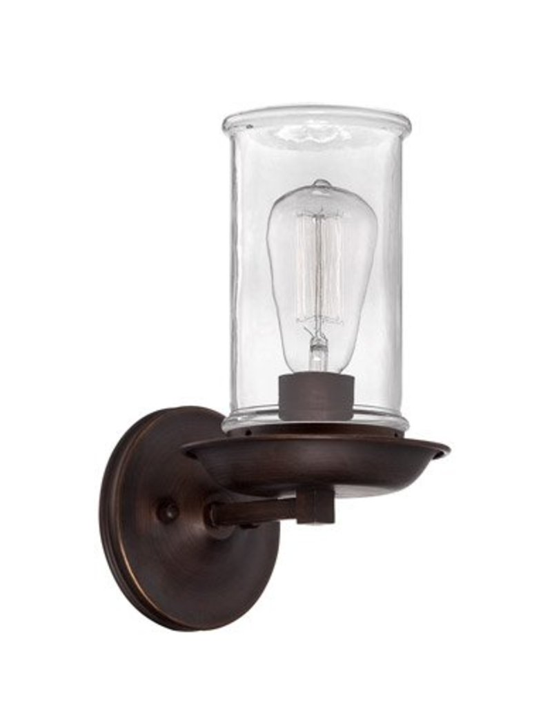 Craft Made Craft Made Thornton Wall Sconce - Aged Bronze