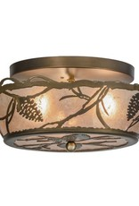 Meyda Meyda Whispering Pines Ceiling Flush Mount