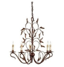 Currey & Co Currey and Company 5-Light Chandelier