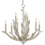 Currey and Company Haywood 9-Light Chandelier