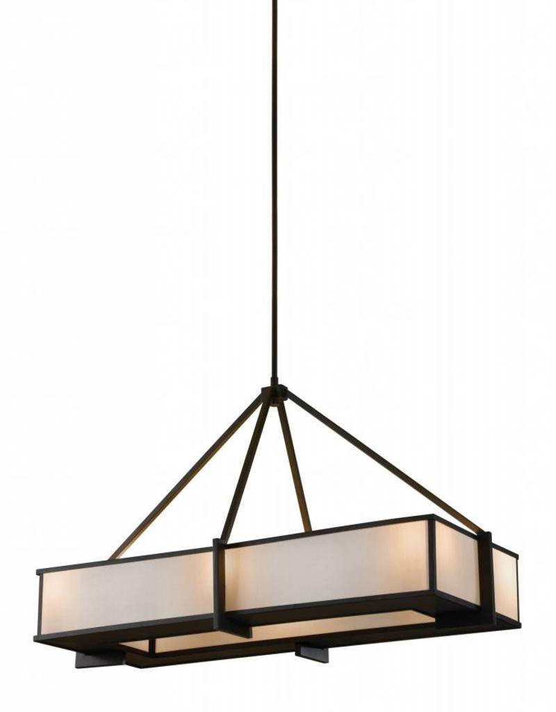 Feiss Feiss 6-Light Island Chandelier