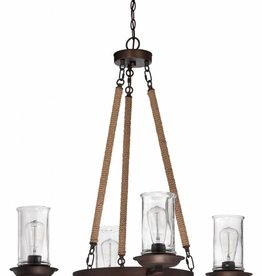Craft Made Craft Made Thornton 4-Light Chandelier