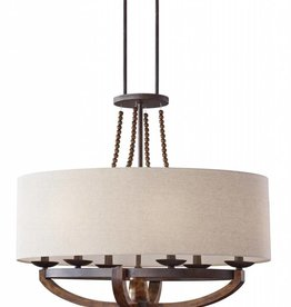 Feiss Feiss Adan 6 Light Chandelier