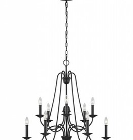 Feiss Feiss Boughton 10-Light Chandelier