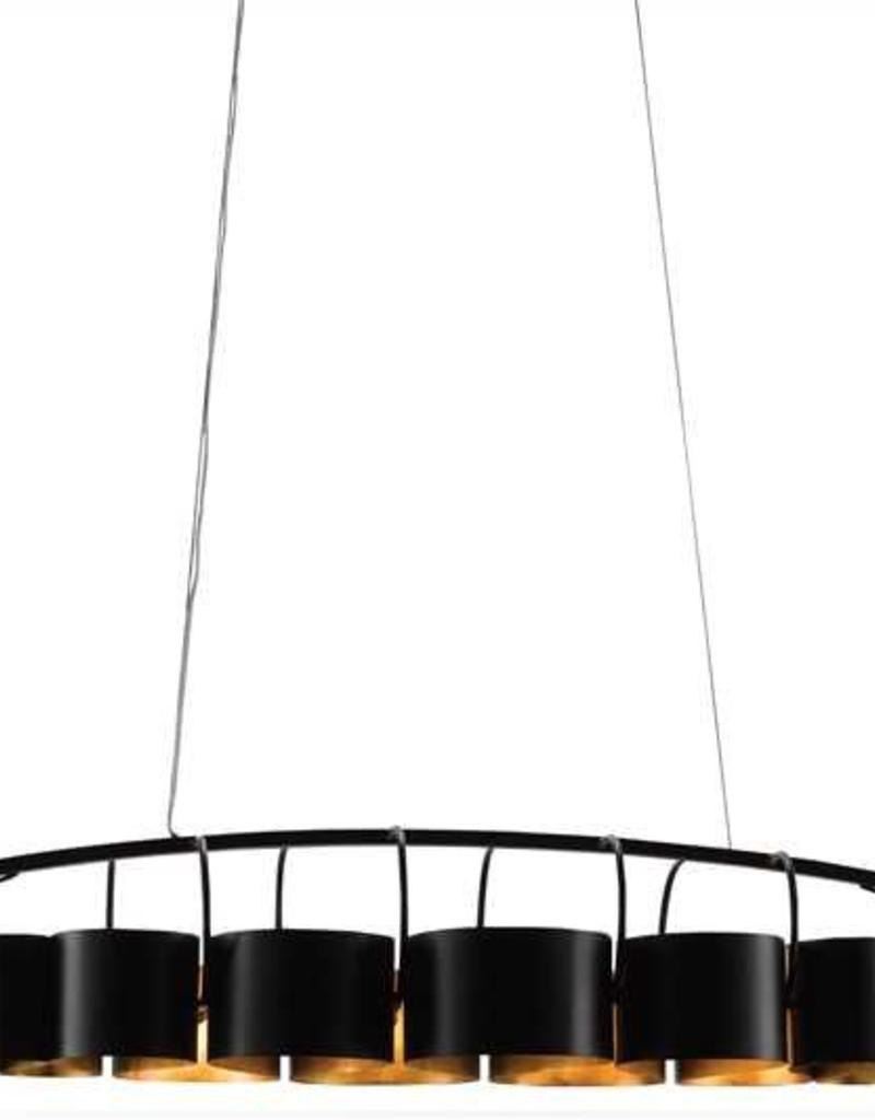 Currey & Co Currey and Company Marchfield Rectangular Chandelier