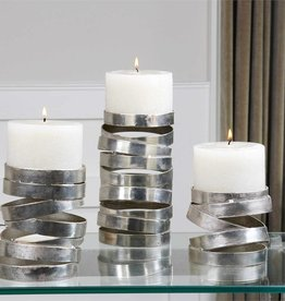Uttermost Candleholder, Tamaki, Set of 3
