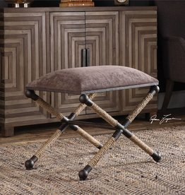 Uttermost Evert Accent Stool