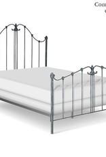 Corsican Queen Iron Bed Frame - Matte White