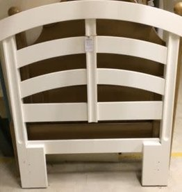 Twin - White Wood Headboard