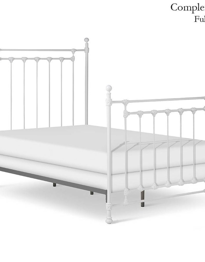 Corsican King - Cream Metal Bed Frame