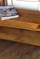 J.S. Custom Edge Woodworking Inc. Custom 4' Bench Stained