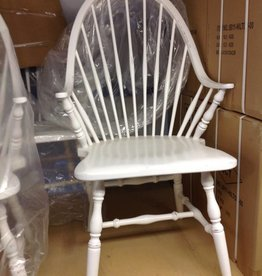 Eddy West Windsor Arm Chair - White