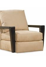 Lee Industries Swivel Chair - Caramel Sand
