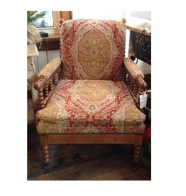 Vanguard Furniture Bell Spool Chair - Aztec