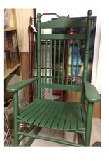 Green Rocking Chair