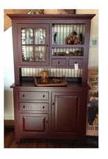 Cody Road Workshops Two Piece Country Hutch