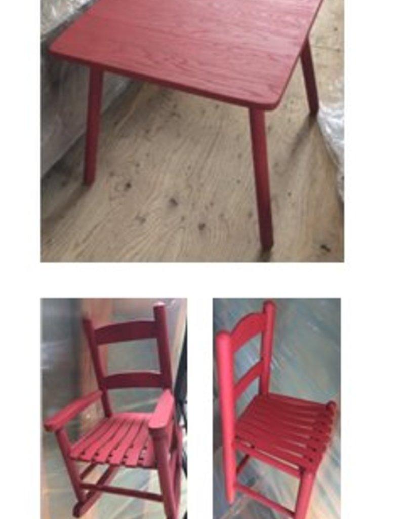 Paul Allen Children's Table & 3 Chairs