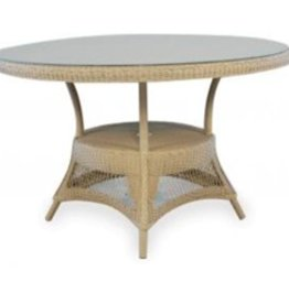 Lloyd Flanders Umbrella Table