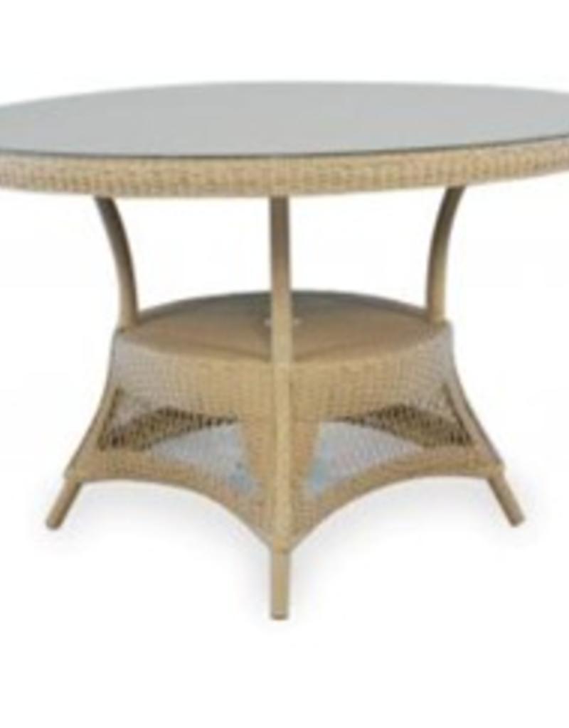 Lloyd Flanders Umbrella Table