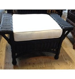 Designer Wicker Bar Harbor Ottoman