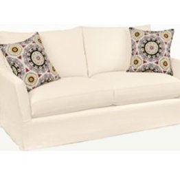 Four Seasons Porter Sofa - Alero Tomato