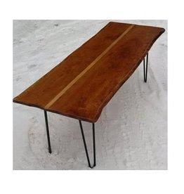 Paul Allen Live Edge Maple Coffee Table