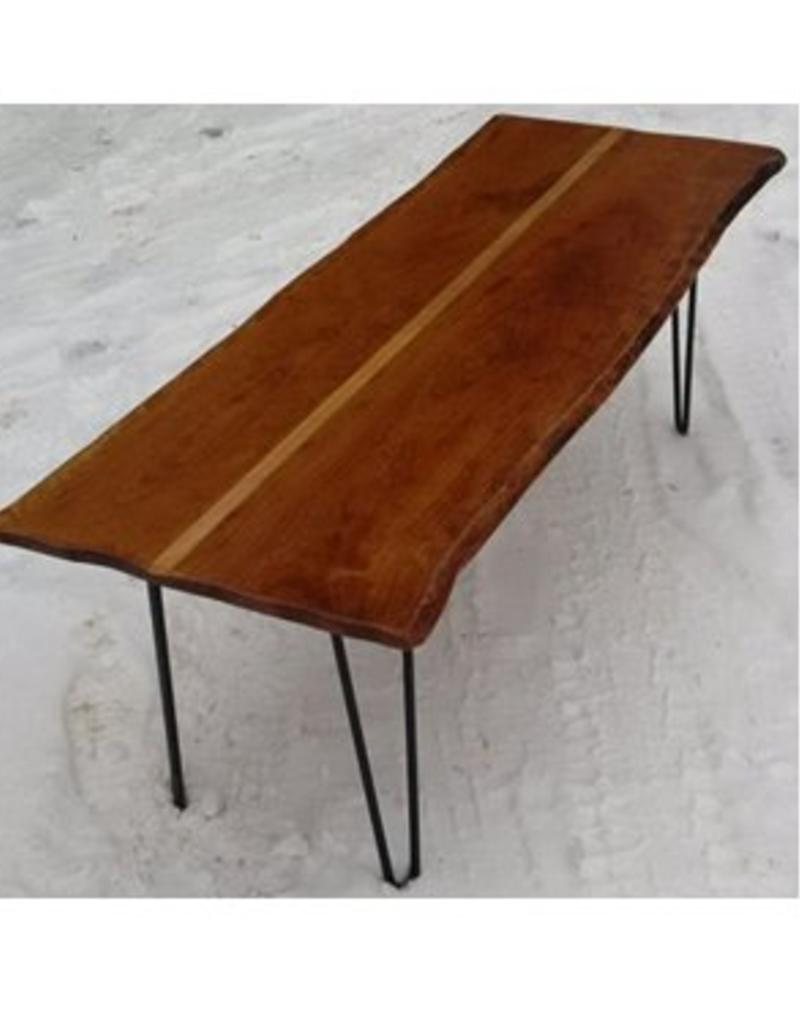 Paul Allen Live Edge Maple Coffee Table
