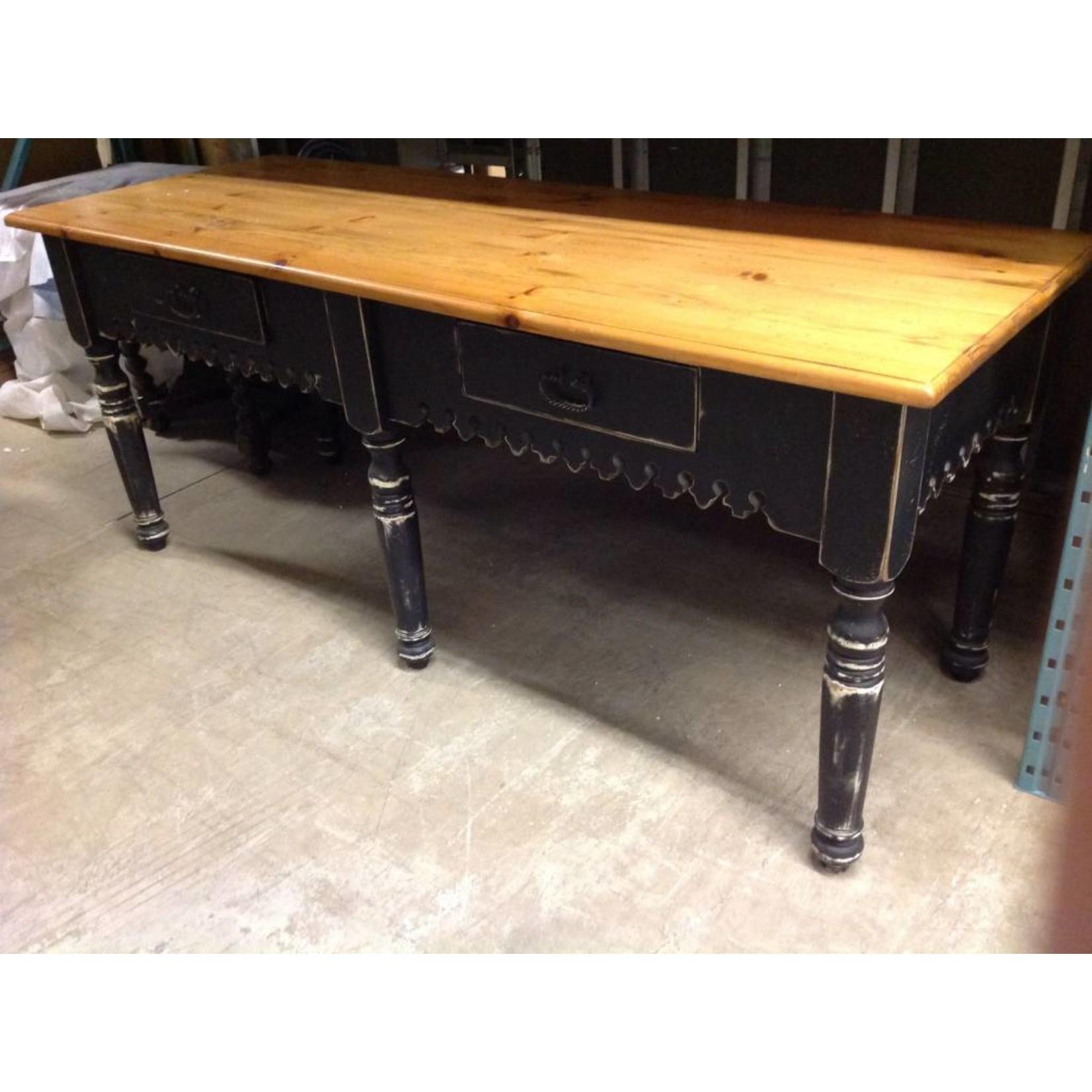 Large Sideboard - Black & Pine