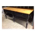 Eddy West Large Sideboard - Black & Pine