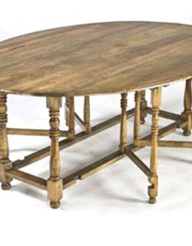 Regina Andrews Oval Drop Leaf Dining Table