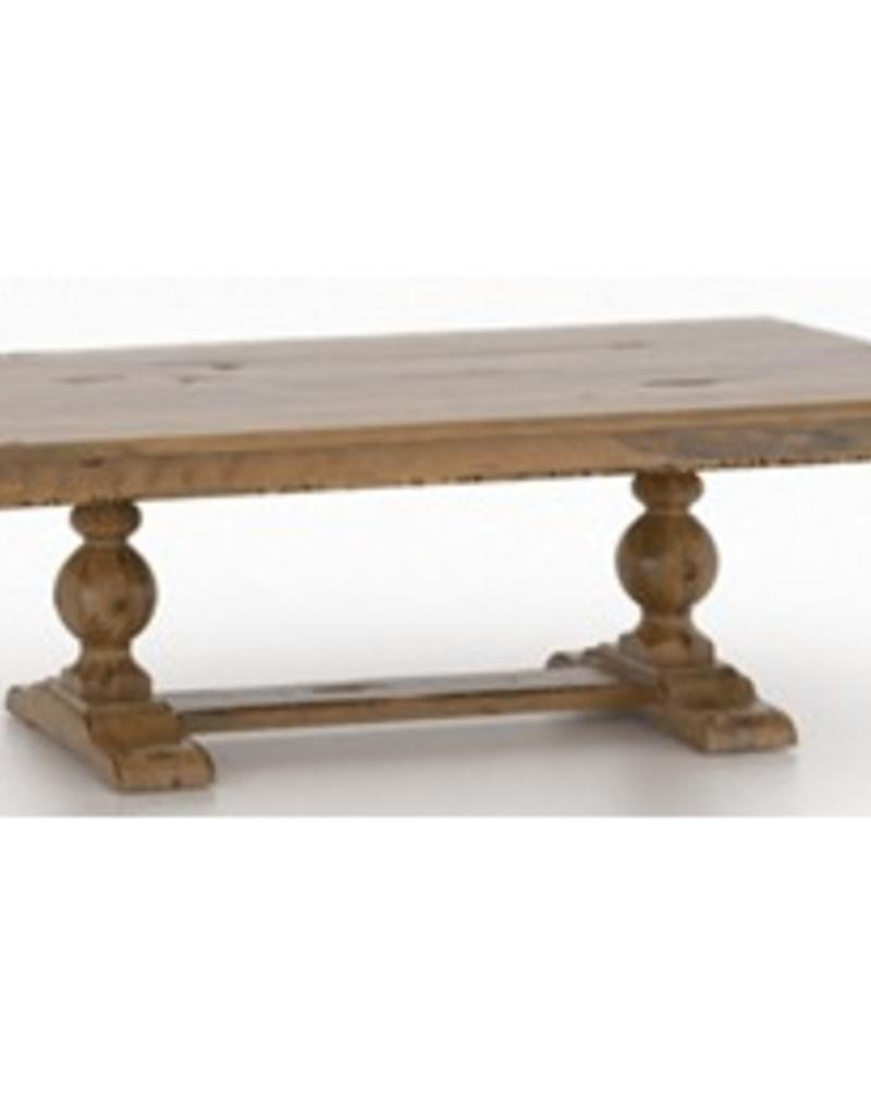 Canadel Pedestal Dining Table - Oak Washed