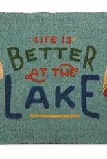 Tag ltd Life is Better Doormat