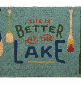 Tag ltd Life is Better Doormat
