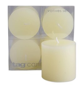 Tag ltd Mini Pillar Candle Set of 4