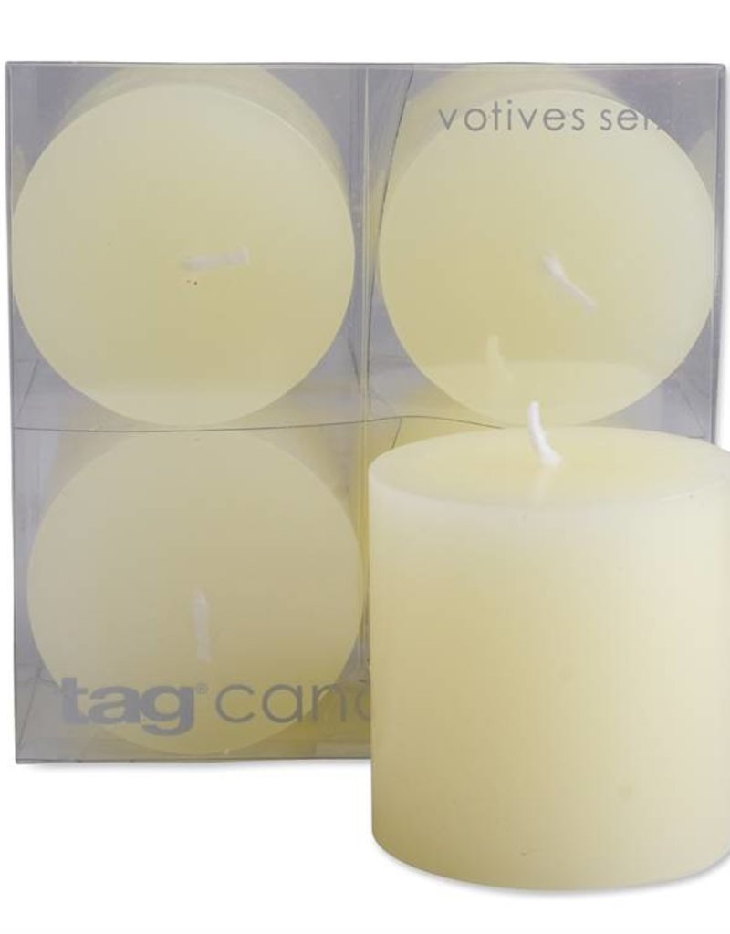 Tag ltd Mini Pillar Candle Set of 4