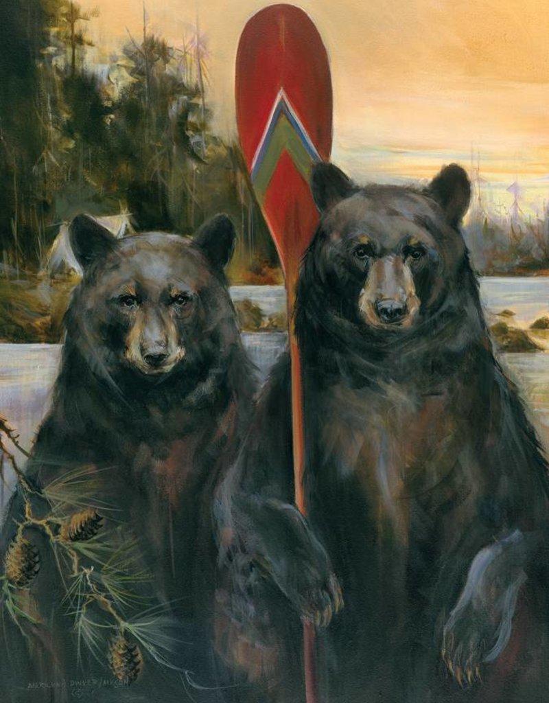 Mason Maloof Bear Print - American Rustic 22x28