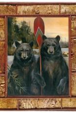 Mason Maloof Bear Print - American Rustic 30x40