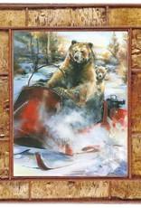 Mason Maloof Bear Print - Bear Claw 30x40
