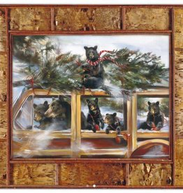 Mason Maloof Bear Print - Room at the Top 30x40