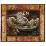 Bear Print - The Gamblers 30x40
